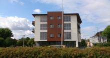 Budynek mieszkaniowo-usługowy w Piotrkowie Tryb. przy ul. Narutowicza