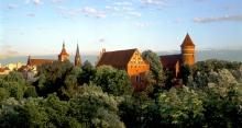 Zamek w Olsztynie - budowla z cegły